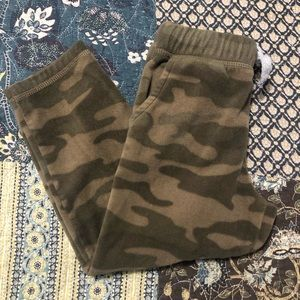 •CARTER'S• Camo Fleece Pants!